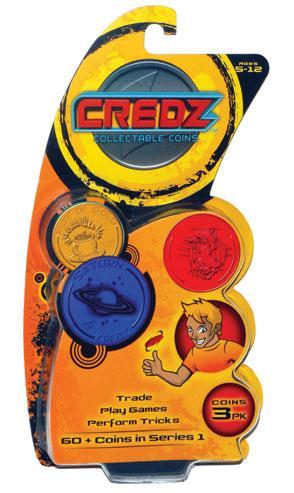 Credz Coins : 3 Pack