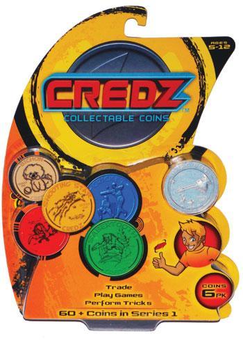 Credz Coins : 6 Pack