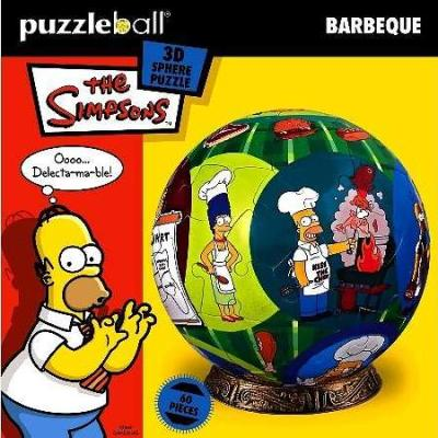 Simpsons P/Ball : 60 Pce - Barbeque
