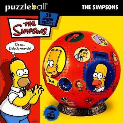 Simpsons P/Ball : 60 Pce - The Simpsons
